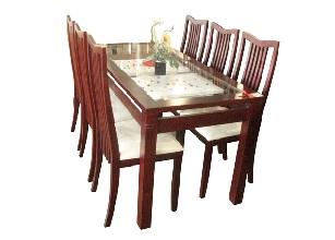 Bộ bàn ghế gỗ Xoan Đào Gia Lai