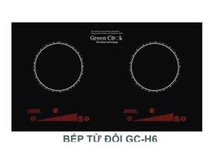 Bếp từ đôi Greencook GC-H6
