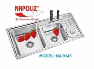 Chậu rửa bát Napoliz NA 9145