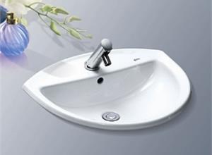 Chậu rửa mặt Inax L 2396V