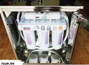 Máy lọc nước GEYSER 4 lõi(inox xịn)