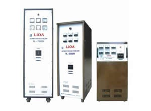 Ổn áp lioa 3 pha dải điện áp đầu vào 304-420V