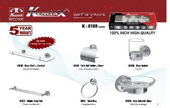 Phụ kiện phòng tắm Kendax K6100
