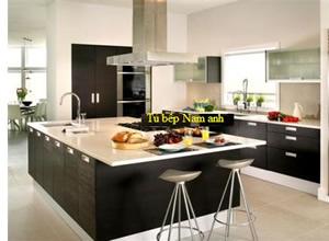 Tủ bếp laminate TBLF006